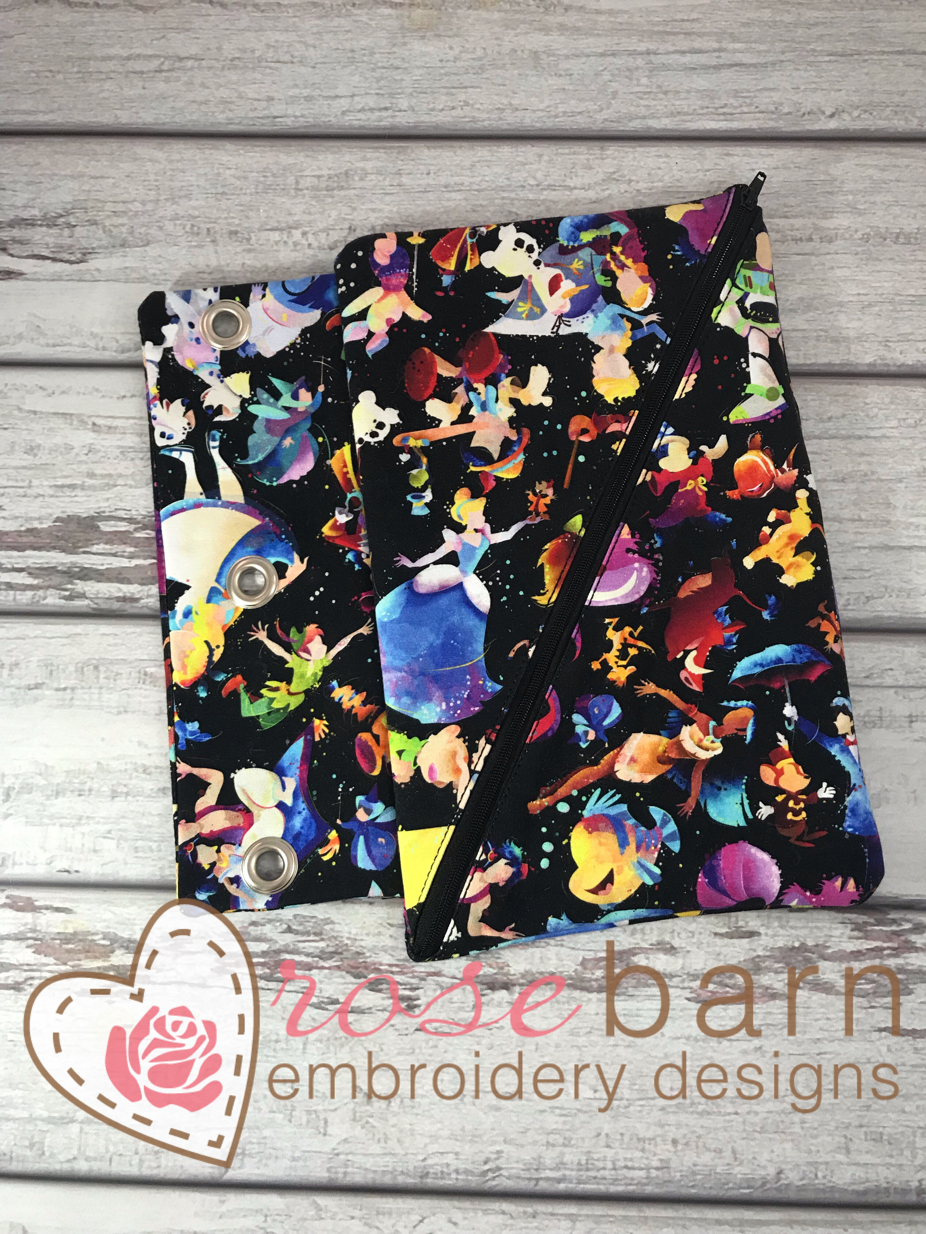 ITH Binder Zipper bag (6x10 and 8x12 Only)