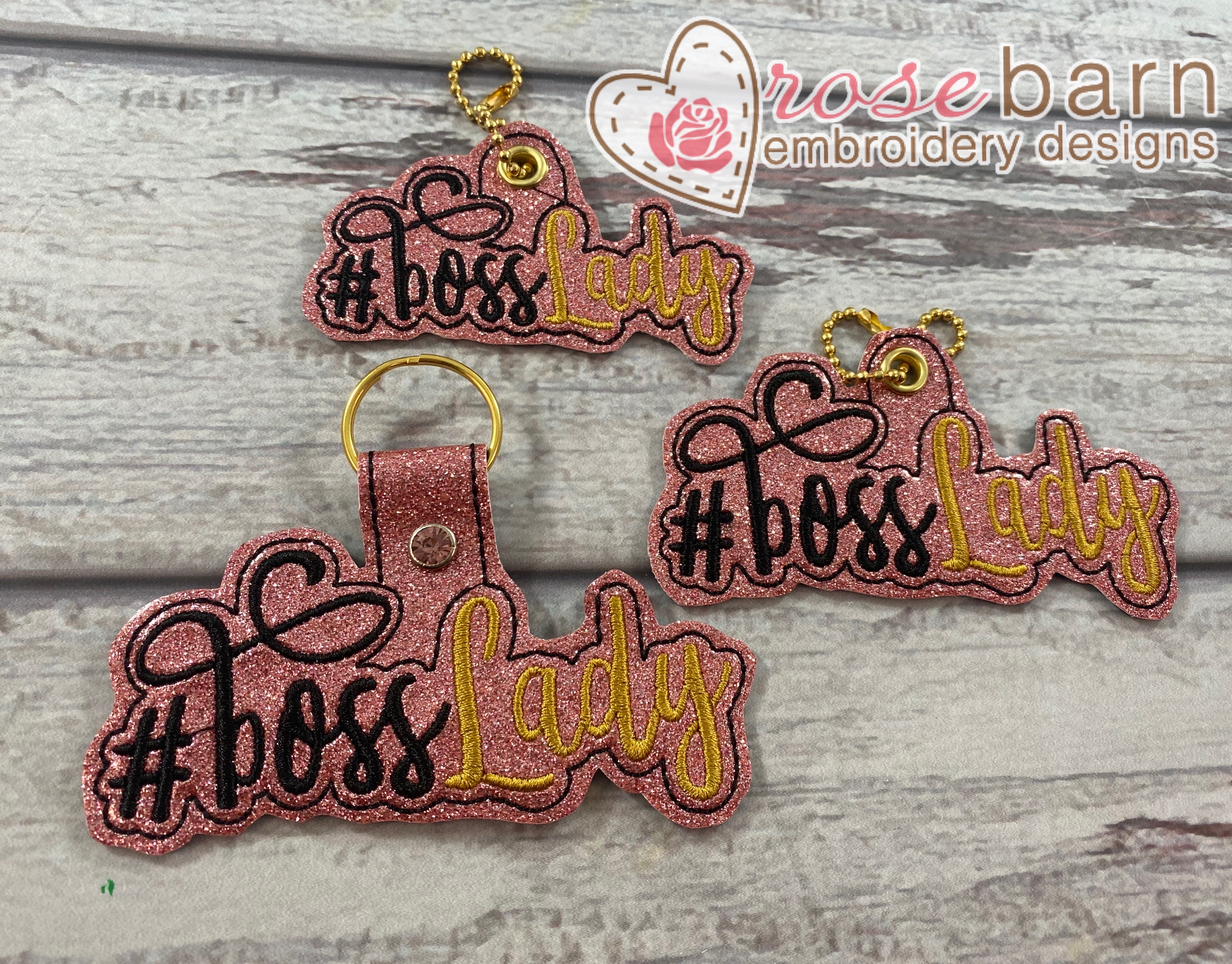 Boss Lady Key Fob