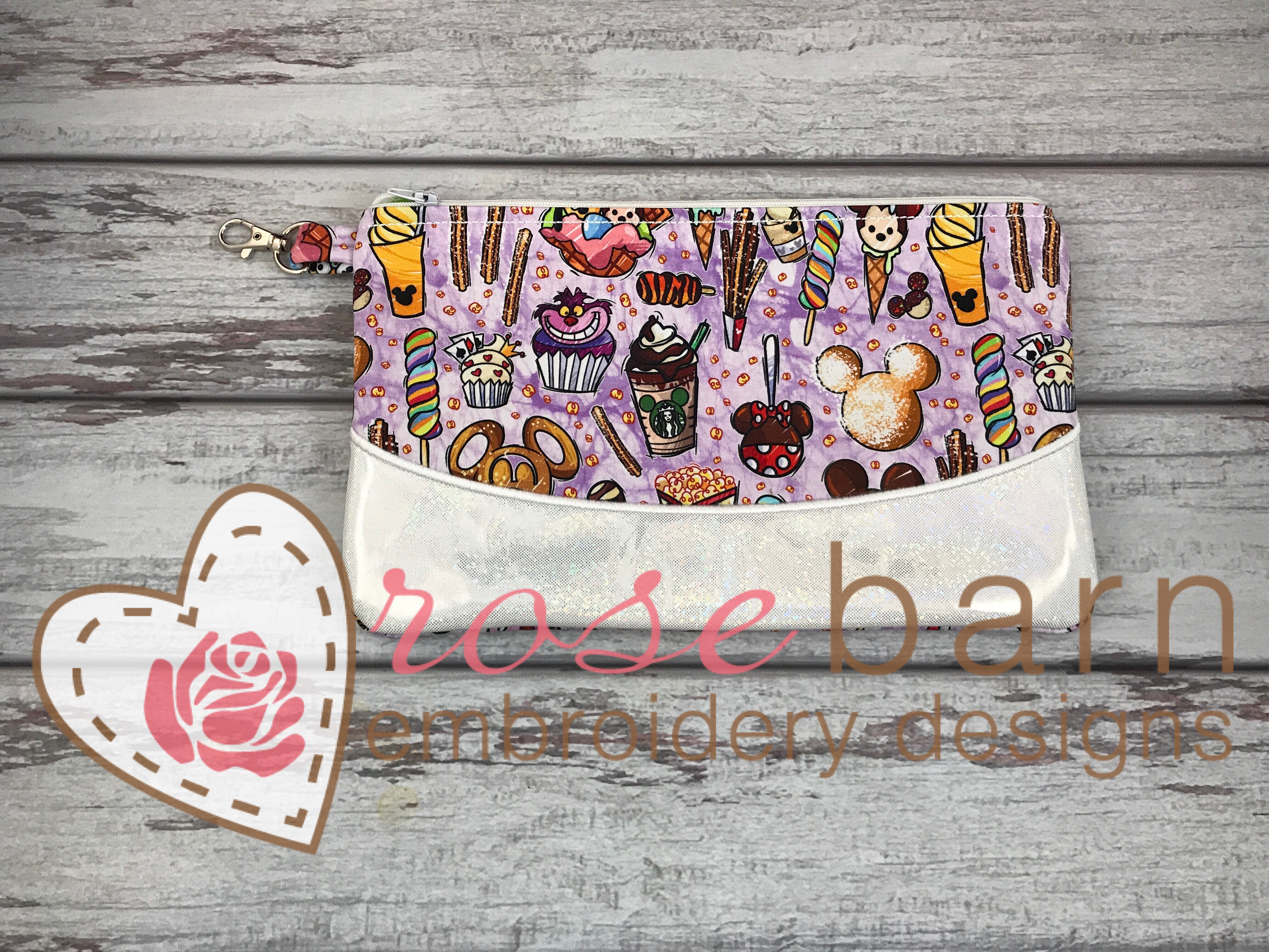 Clutch Zipper Bag