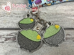 Guacamole Key Fob and Pull