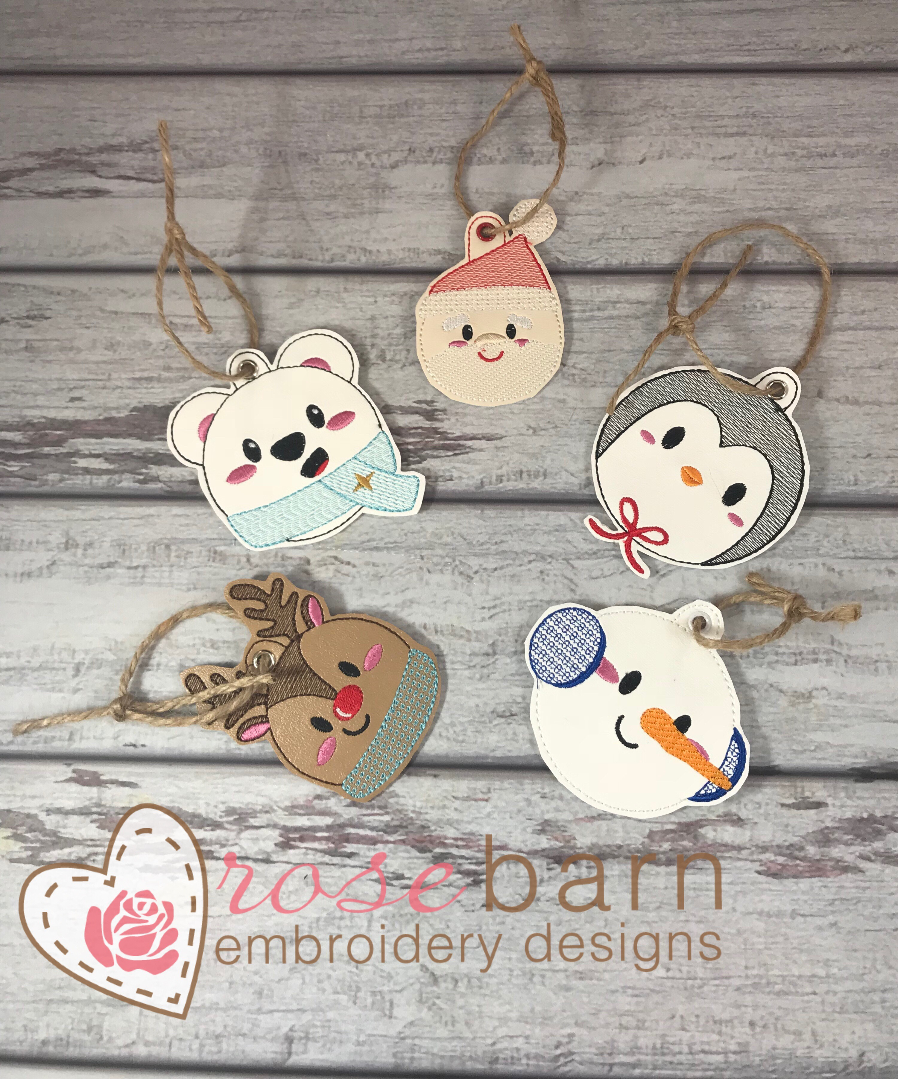 Holiday Cheer Ornament bundle