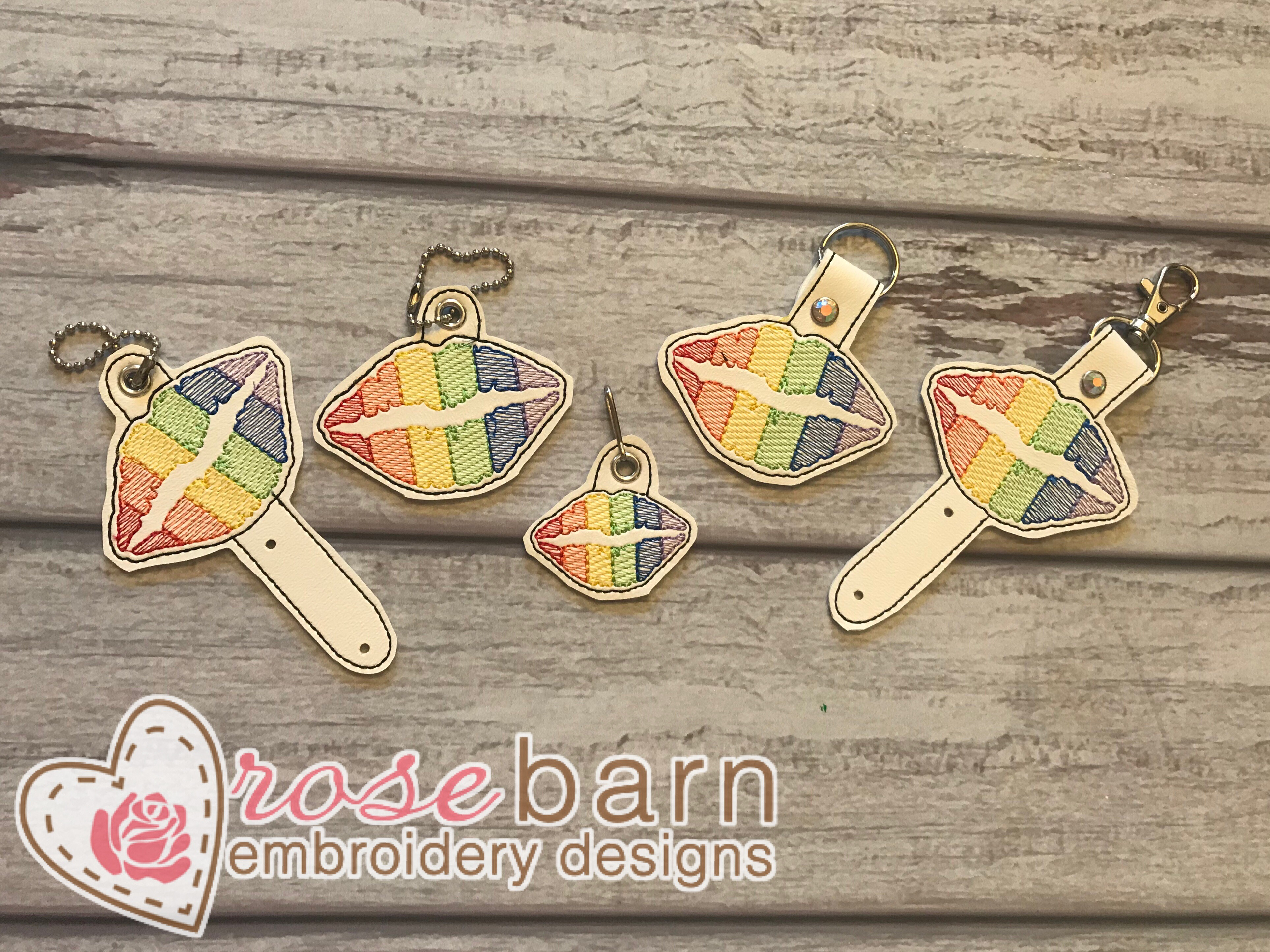 Rainbow Lips Set