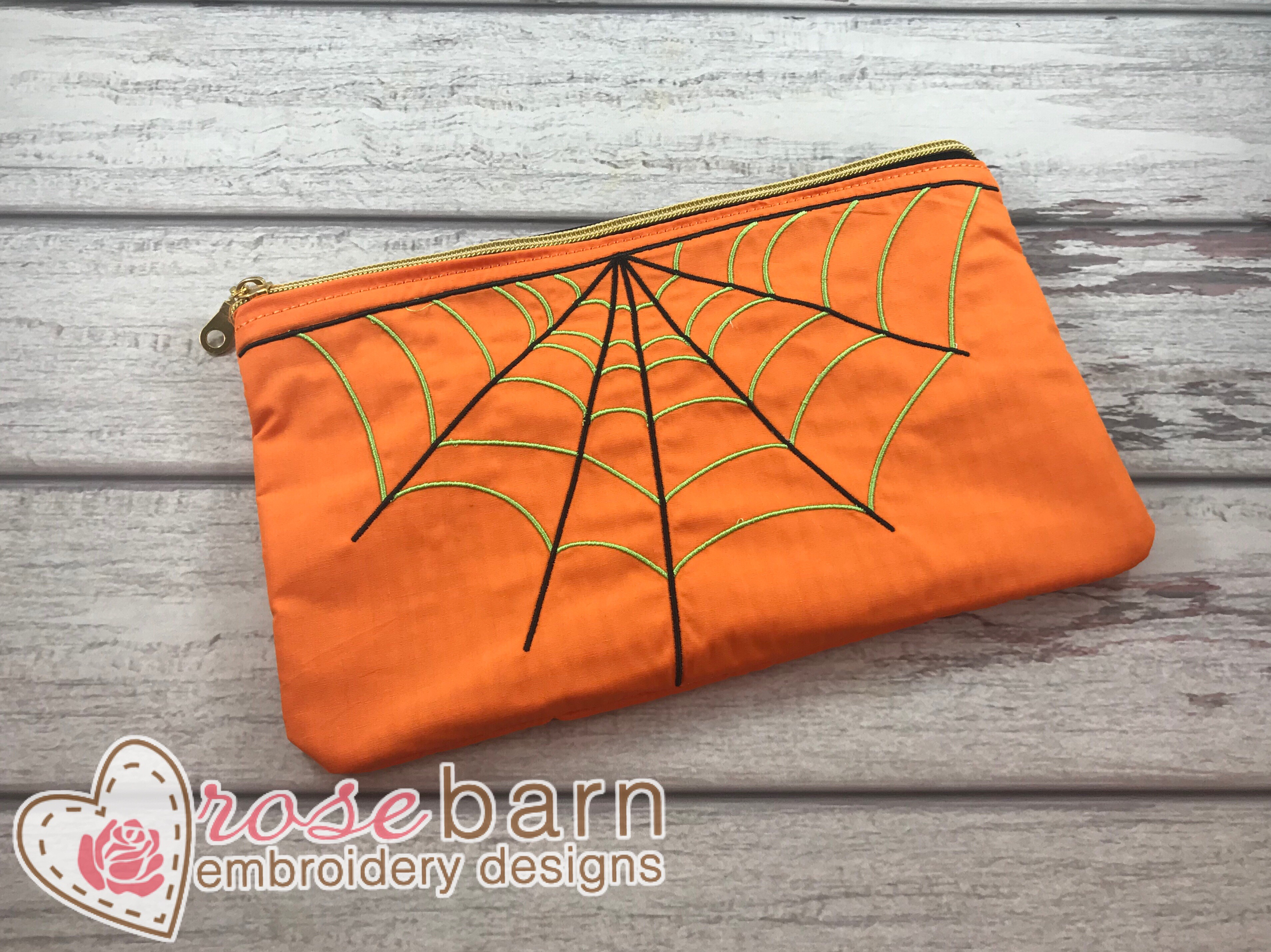 Spider Clutch Zipper Bag 5z
