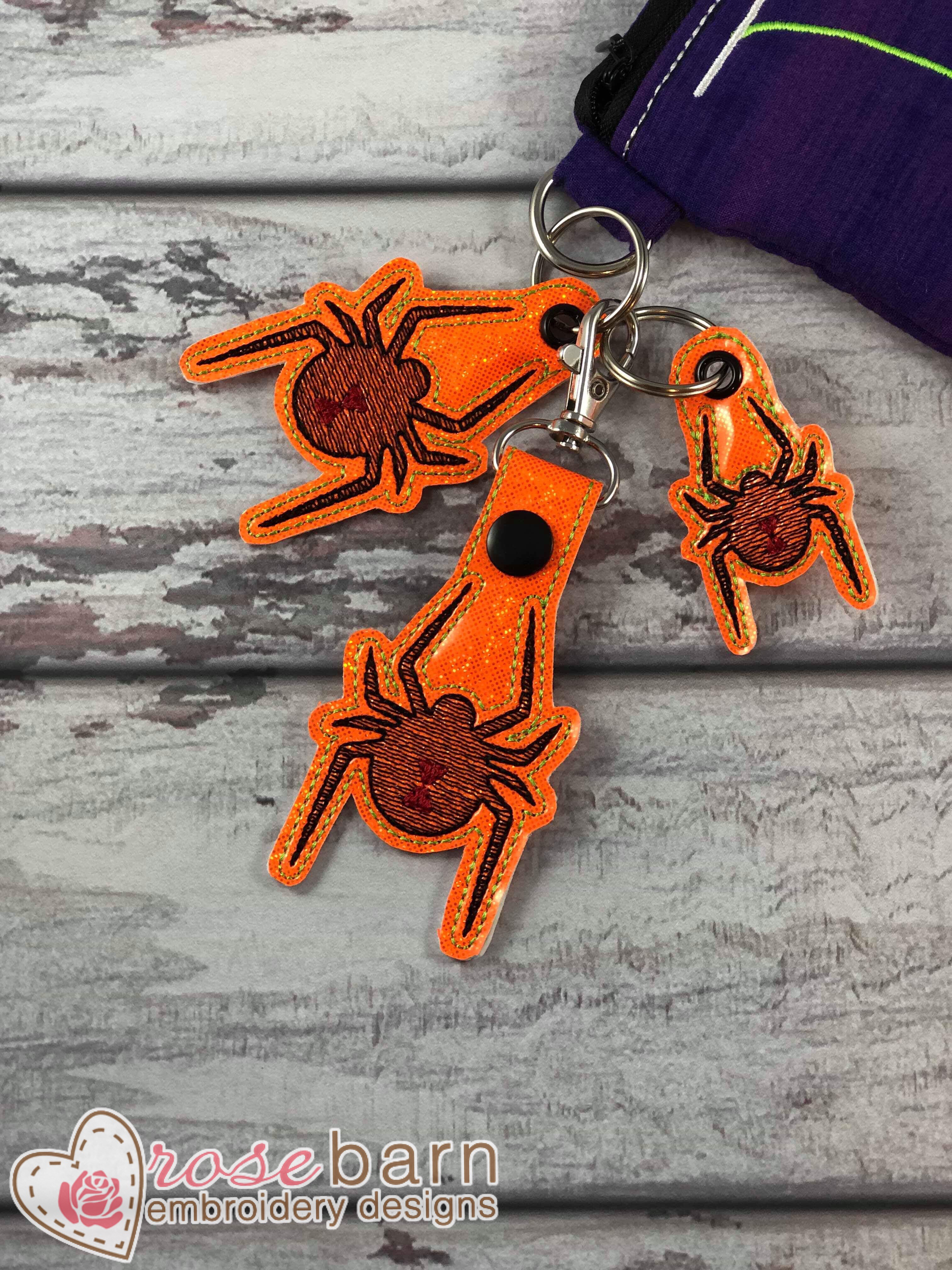 Spider Key Fob and Pull