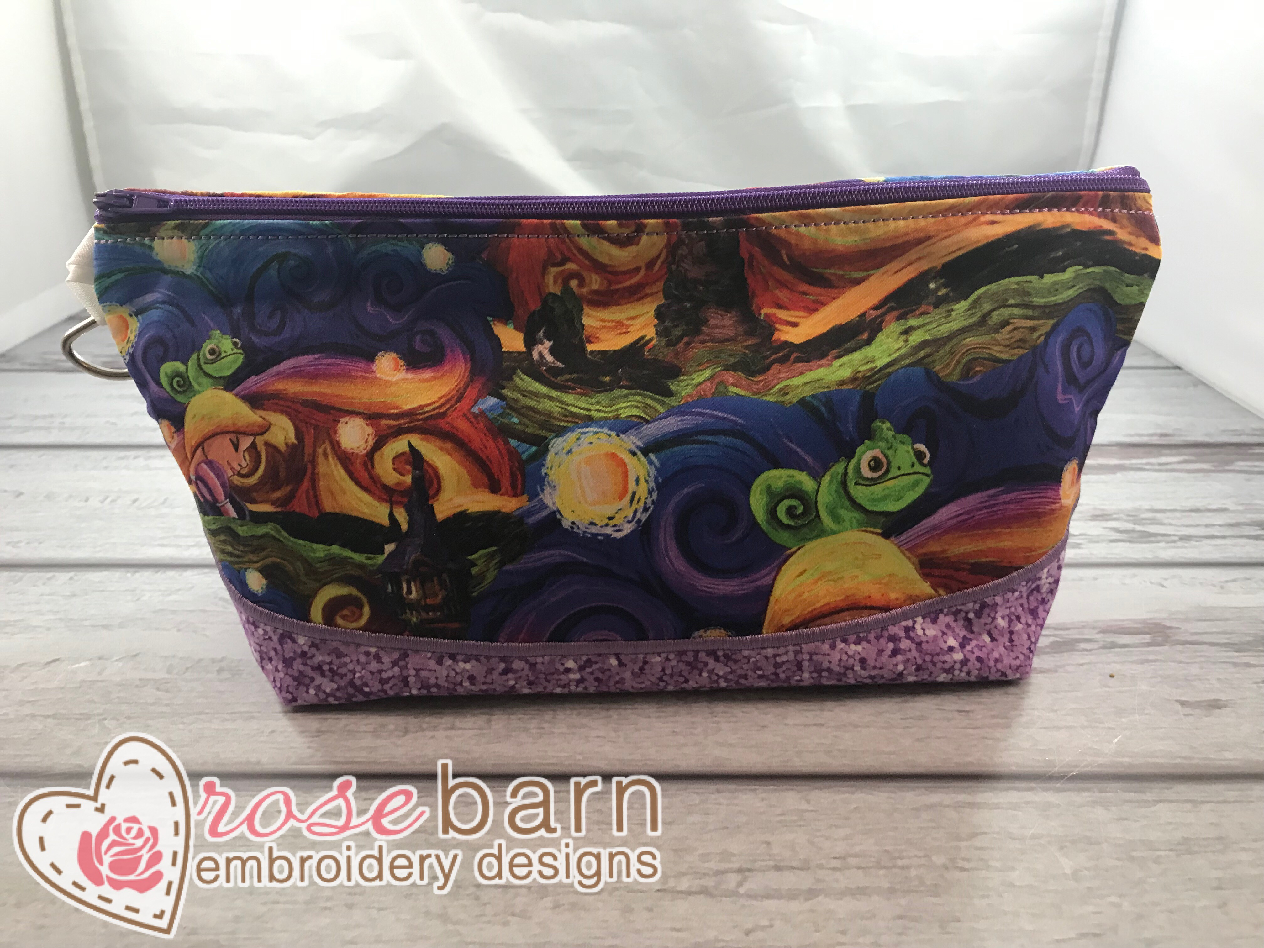 Boxed Clutch zipper bag