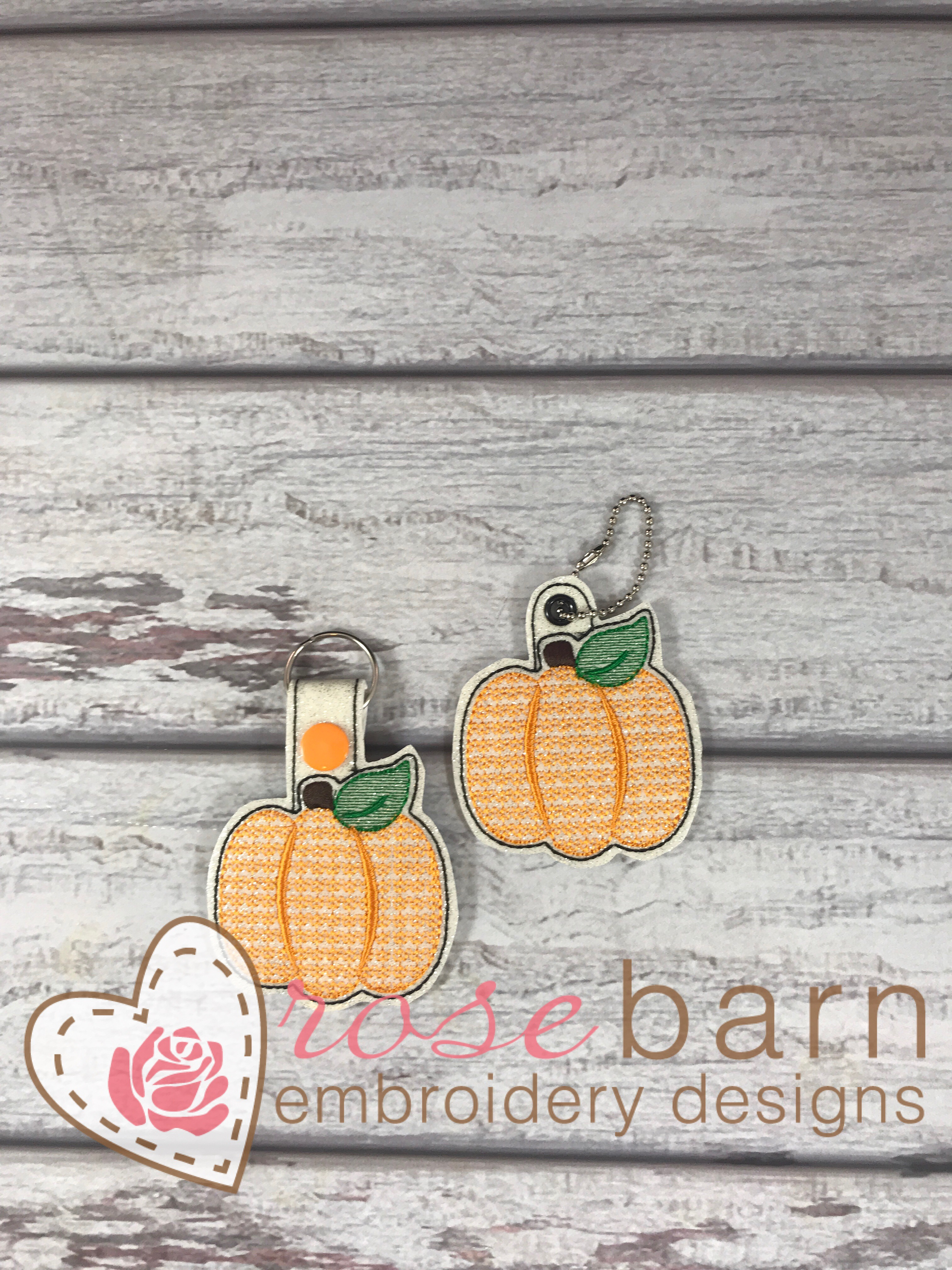 Pumpkin Key Fob