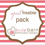 April 2019 Freebie Pack