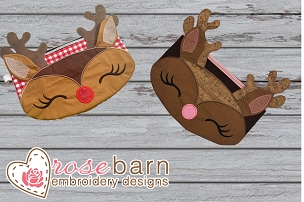 3D Reindeer Clutch Bundle