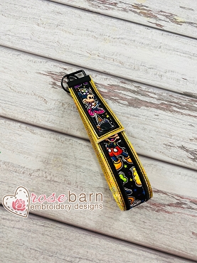 Applique Snap Key Fob