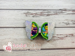 Butterfly Applique Bow