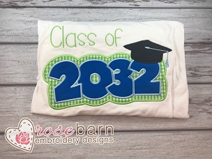 Class of 2032 Applique V1