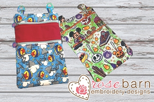 Double Zipper Bag Bundle (#3 and #5 zippers)