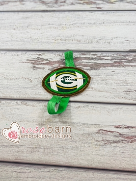 Football Applique Planner Band