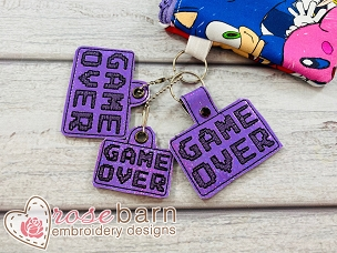 Game Over Key Fob