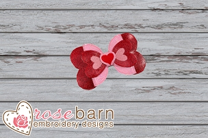 Heart Bow - 5x7 or larger