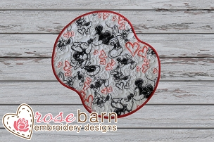 Heart Mouse Pad 1 WITHOUT REST