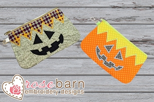 Jack O Lantern Clutch Bag Bundle