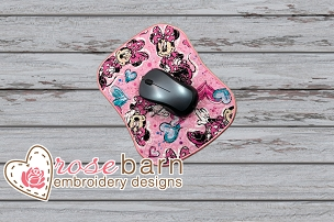 Heart Mouse Pad 2 WITHOUT REST