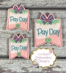 Pay Day Planner Feltie