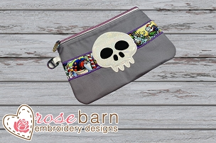 Skull Zipper Bag 5z