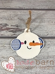 Snowman ITH Ornament