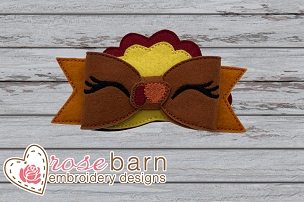 Turkey Bow - 5x7 or larger
