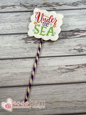 Under The Sea Photo Prop
