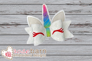 Unicorn Bow - 5x7 or Larger