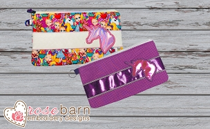 Unicorn Clutch Zipper Bag Bundle