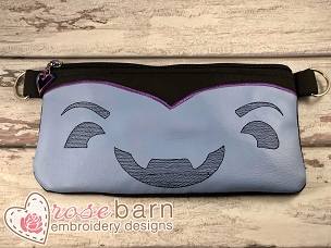 Vampire Clutch Zipper Bag 5Z