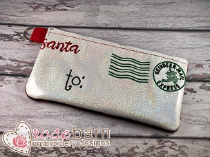 North Pole Letter Clutch