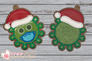 Germ Applique Ornament