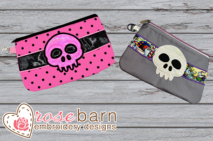 Skull Zipper Bag Bundle