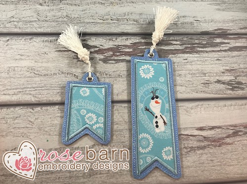 Bookmark Applique #3