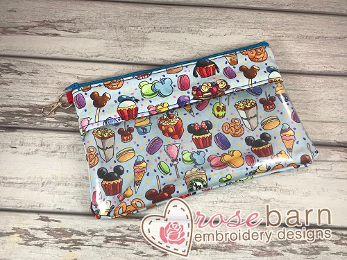 Buttercup Clutch zipper bag