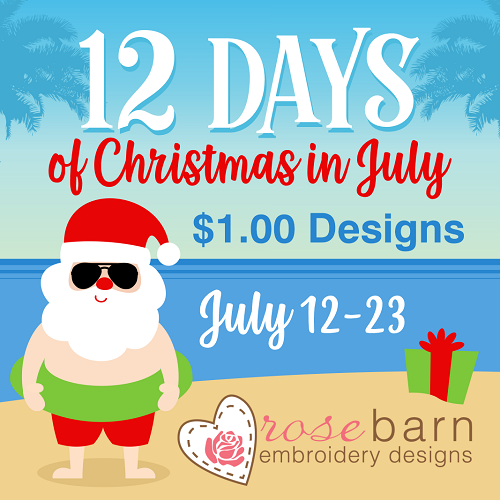 12 days of Christmas in July Pack July 2019